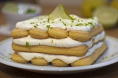 Limoncello tiramisù - My happy kitchen & lifestyle Limoncello, Cooking Time, Cooking Recipes, Healthy Recipes, Healthy Meals, Lima, Happy Kitchen, Köstliche Desserts, Recipe Images