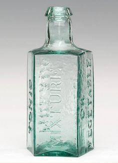 Online Auction by American Glass Gallery Antique Bottles, Vintage Bottles, Bottles And Jars, Glass Bottles, Old Medicine Bottles, Amazon Kindle, Design Reference, Cobalt Blue, Vodka Bottle