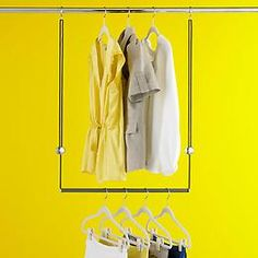 The Container Store > Dublet Adjustable Closet Rod Expander by Umbra® $20