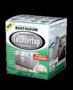 Linoleum countertop paint (: