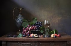Photographer professional Елена Татульян (Elena Tatulyan). Вино и виноград. City Самара.