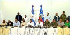 Cancilleres de Haití y República Dominicana dan pasos importantes en relaciones ambos paises