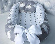 Babynest for Newborn Removable mattress Sleep bed Baby nest co sleeper baby nest organic baby nest bed baby sleep nest baby room Quilt Baby, Baby Nest Bed, Snuggle Nest, Baby Pillows, Organic Baby, Baby Sewing, Baby Sleep, Future Baby, Baby Car Seats