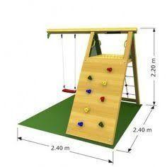 Resultado de imagem para diy play structures - Another! Backyard Jungle Gym, Backyard For Kids, Diy For Kids, Outdoor Jungle Gym, Cubby Houses, Play Houses, Outdoor Play Areas, Build A Playhouse, Kids Play Area