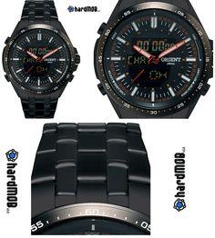 [S. BARATO] Relógio Mascul. Orient Analógico e Digital Esportivo MPSSA002 POPX - R$ 269,91