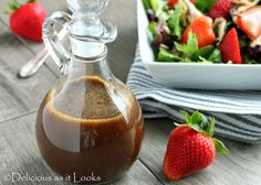 Maple Balsamic Vinaigrette - Delicious as it Looks Fodmap Diet, Low Fodmap, Fodmap Foods, Balsamic Vinegrette, Maple Vinaigrette, Maple Balsamic Dressing, Jack Food, Sauces, Strawberry Balsamic