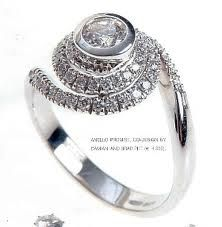 Jennifer Aniston's engagement ring from Brad Pitt (in collaboration with Damiani)