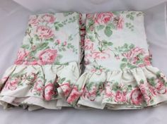 Laura-Ashley-Vintage-Country-Roses-Rosemoor-Pink-Cottage-Pillow-Sham-Set-of-2