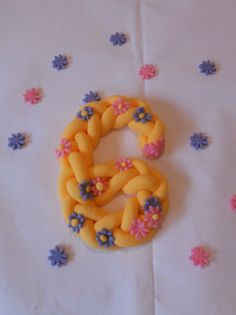 Disney Tangled Princess Rapunzel Cake topper decoration by Cakes by GG NI, via Flickr