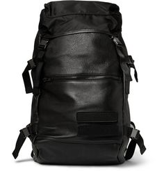 Tim Coppens Leather and Nylon Backpack | MR PORTER