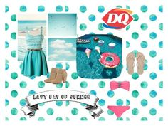 """""""Last day of summer"""" by swim4eva ❤ liked on Polyvore featuring sztuka"""