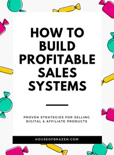 In this no-fluff guide I break down every successful sales system I currently use in my business. I take you behind-the-scenes of my highest converting posts, pages, emails and funnels. Make Money Blogging, How To Make Money, Earn Money, Business Tips, Online Business, Strategy Business, Creative Business, Sales Strategy, Marketing Strategies