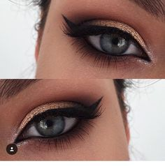 Golden Eye Makeup, Natural Eye Makeup, Natural Eyes, Organic Makeup, Blue Eye Makeup, Makeup Goals, Makeup Inspo, Beauty Makeup, Hair Makeup