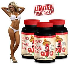 Tongkat Ali Male Enhancement Formula Make My PEpPEr Big with Maca Root LArginine Ginseng 3 Bottles 180 Capsules >>> Want to know more, click on the affiliate link Amazon.com.