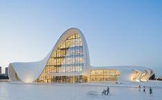Heydar Aliyev Center, Zaha Hadid. What a beautiful building.