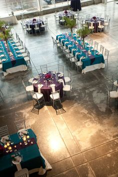 Pink and silver/gray instead of the teal and purple........for my sister wedding