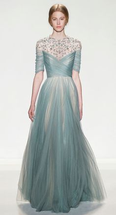 Fashion in Motion: Jenny Packham Celebrates 25 Years With Free Catwalk Shows At… Couture Mode, Couture Fashion, Runway Fashion, Jenny Packham, Evening Dresses, Prom Dresses, Wedding Dresses, Dress Prom, Bridal Gowns