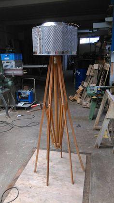 Washing machine drum and wooden parasol
