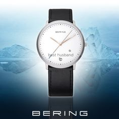 Bering Best Husband limited edition férfi karóra Best Husband, Daniel Wellington, Leather, Accessories, Silver, Products, Gadget, Jewelry Accessories, Money