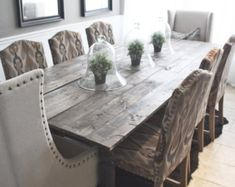 Made to Order Handmade White and Gray Farmhouse by IndigoInteriors