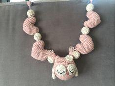 StrikkeogHekleLise – Strikket lue med flettebord og oppskrift Crochet Necklace, Design, Fashion, Accessories, Moda, Fashion Styles, Fashion Illustrations