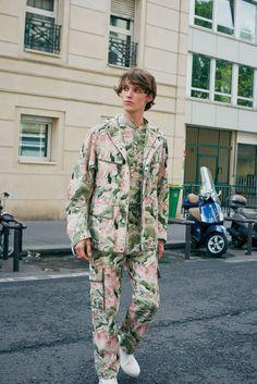 John Galliano Spring 2018 Menswear Fashion Show Collection