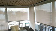 Screen kaihtimet voivat olla ala-asennossa ja silti voit nauttia maisemasta.
