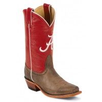 Alabama Houndstooth Boots Cowboy Boots | University of Alabama Footwear - Alabama Shoes for Women ...