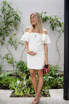 Glam for You - Maternity Style Inspiration Cute Maternity Dresses, Maternity Sewing, Maternity Skirt, Fall Maternity, Maternity Fashion, Maternity Style, Pregnancy Looks, Pregnancy Outfits, Nursing Dress
