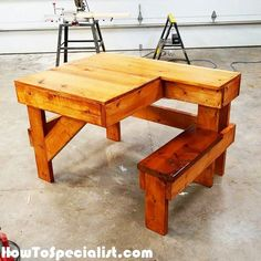 Free Shooting Bench Plans | HowToSpecialist - How to Build, Step by Step DIY Plans