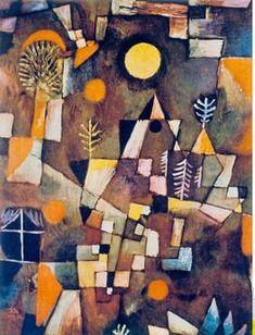 Full Moon 1919 Paul Klee