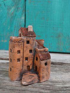 Miniature ceramic house sculpture | Flickr - Photo Sharing!