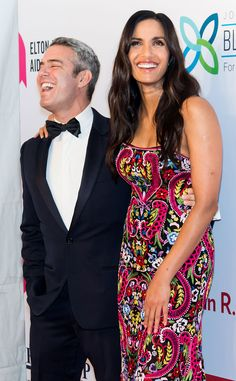 Andy Cohen & Padma Lakshmi from The Big Picture: Today's Hot Pics  The Bravo stars share a laugh at the Elton John AIDS Foundation's 14th Annual An Enduring Vision Benefit at Cipriani Wall Street in NYC.