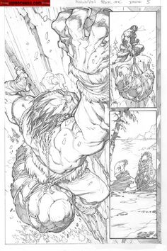 Kwan Chang :: For Sale Artwork :: Inhuman # 1 by artist Joe Madureira