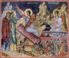 The Myrrh-bearing Women, Dionysiou Mount Athos