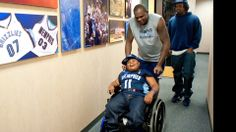 'So full of life': Boy, 8, with cerebral palsy drafted by Memphis Grizzlies