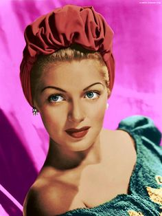 Lana Turner from the Vintage Hollywood Icons album 2