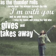 He gives and takes away....