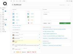 7 Clean and Inspiring WordPress Admin Themes