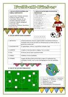 Fußball-Fieber 1. - DAF Arbeitsblätter