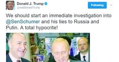 Trump has responded to the Russia scandal by trolling congressional Democrats on Twitter