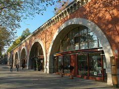 Viaduc des Arts à Paris - Access with subway :  Bastille or Gare de Lyon // www.leviaducdesarts.com  #viaduc #paris #artisans