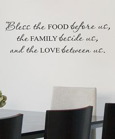 Look at this #zulilyfind! 'The Family Beside Us' Wallquotes.com Decal by Wallquotes.com by Belvedere Designs #zulilyfinds