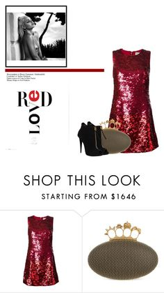 """""""310."""" by babyromy ❤ liked on Polyvore featuring Yves Saint Laurent, Alexander McQueen, Giuseppe Zanotti, AlexanderMcQueen, YSL and Louboutin"""