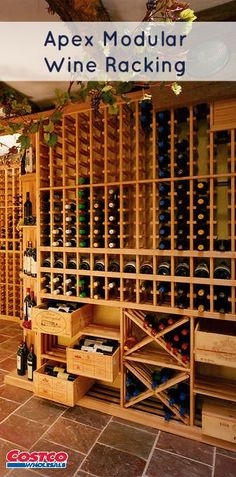 Apex Wine Cellars is one of largest and most innovative wine cellar manufacturers in the world.  Established in 1984, our custom designed cellar modules are handcrafted to match your design and bottle capacity goals.
