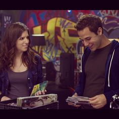 "Becka & Jesse in ""Pitch Perfect"". Besides Fat Amy, they were the best part of the movie. The Hit Girls, Pitch Perfect Movie, Cup Song, Skylar Astin, Movies Worth Watching, Chick Flicks, Photo Couple, Anna Kendrick, Sex And Love"