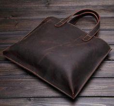 "Vintage Style Genuine Leather Shoulder Bag, Messenger Briefcase ZB02 Model Number: ZB02 Dimensions: 15.7""L x 1.2""W x 11.4""H / 40cm(L) x 3cm(W) x 29cm(H) Weight:"