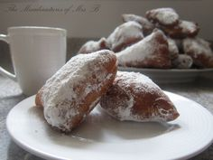 Homemade Beignets. I have never tried beignets, but these look like the ones to try.