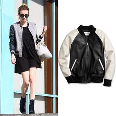 6 Spring Trends Celebrities Are Wearing Now - The Varsity Jacket from #InStyle - Sp 2014