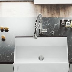 711 best kitchen sinks faucets ideas images in 2019 rh pinterest com